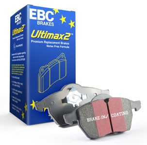 Brake pads EBC Ultimax2 Mini Mini Hatch III (F56) 2.0 Turbo Cooper S. Tillverkarens produktnr: DPX2228