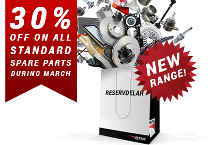 Standard spare parts - a new step in the history of BSR!