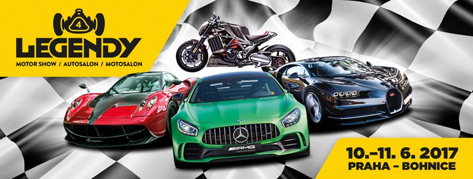 Legendy 2017 - motoristická slavnost