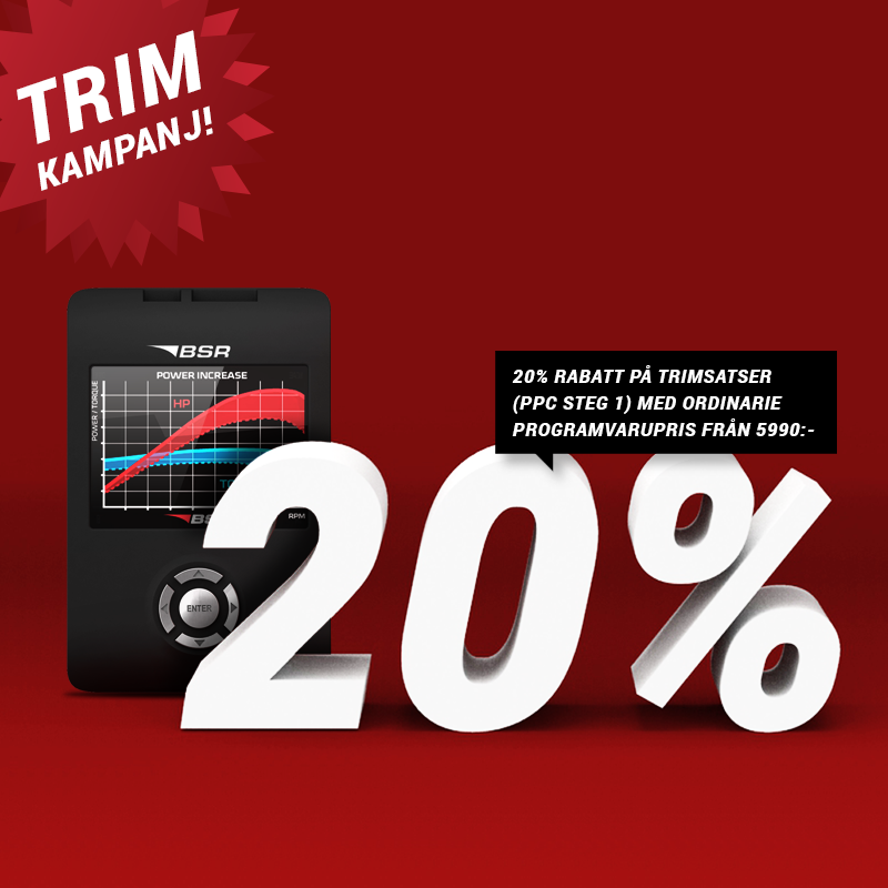 TRIMKAMPANJ - 20% RABATT