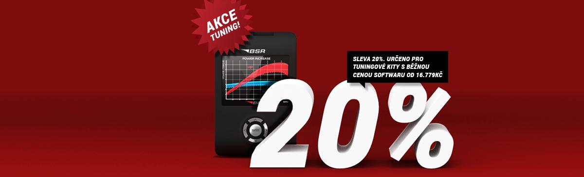 Akce -20% na tuning BSR