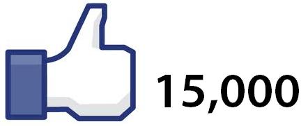 15.000 fanoušků na FB!!!