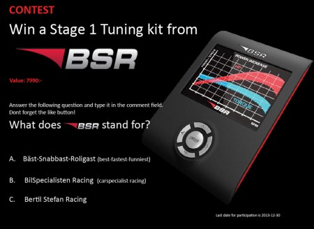 Win a BSR tuning kit!
