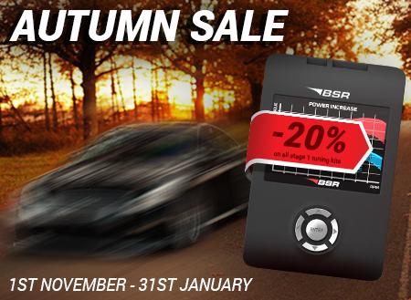 Autumn sale -20%!
