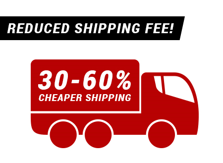 Reduced shipping fee